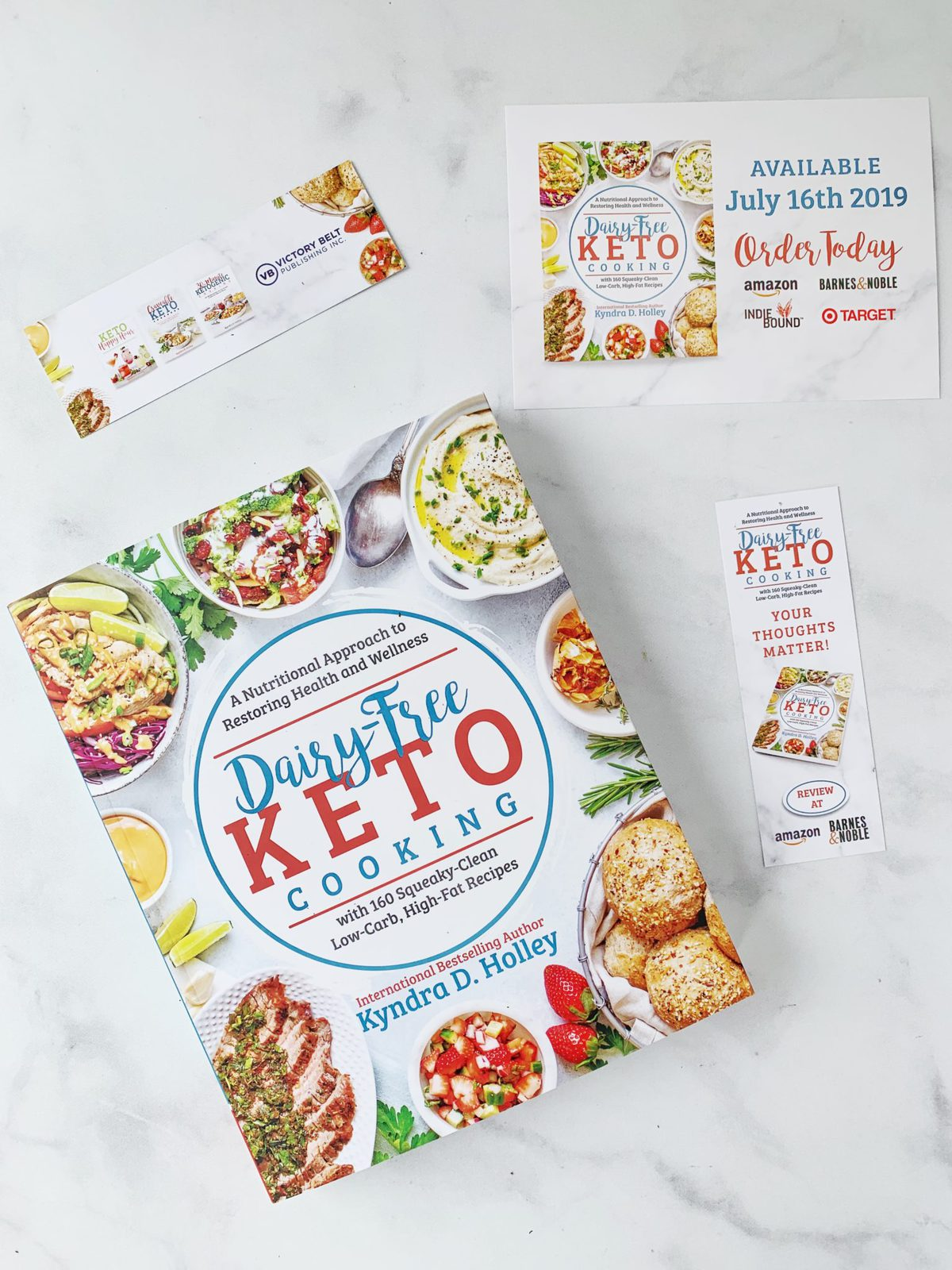 Dairy Free Keto Cooking by Kyndra D. Holley | Peace Love and Low Carb