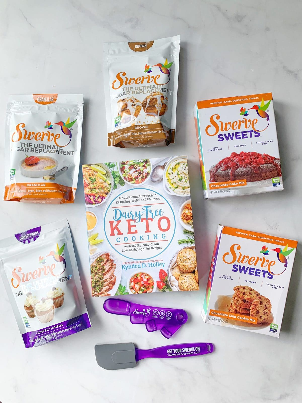 Dairy Free Keto Cooking GIVEAWAY Extravaganza - 11 Weeks of giveaways for the launch of my new book. Swerve