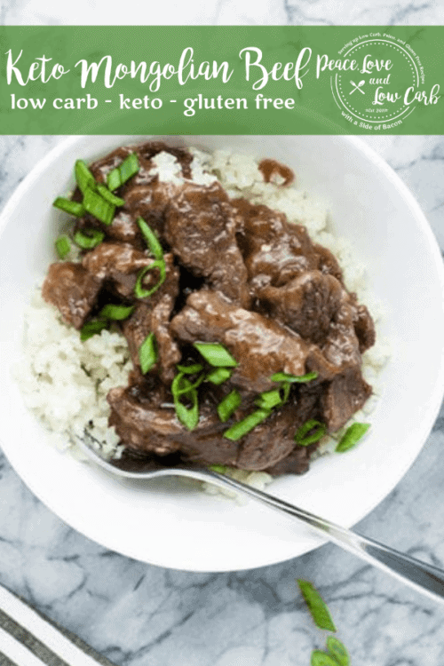 If you are craving low carb Chinese food, this paleo, keto Mongolian Beef is going to absolutely hit the spot. It is quick and easy to make, and bursting with flavor.
