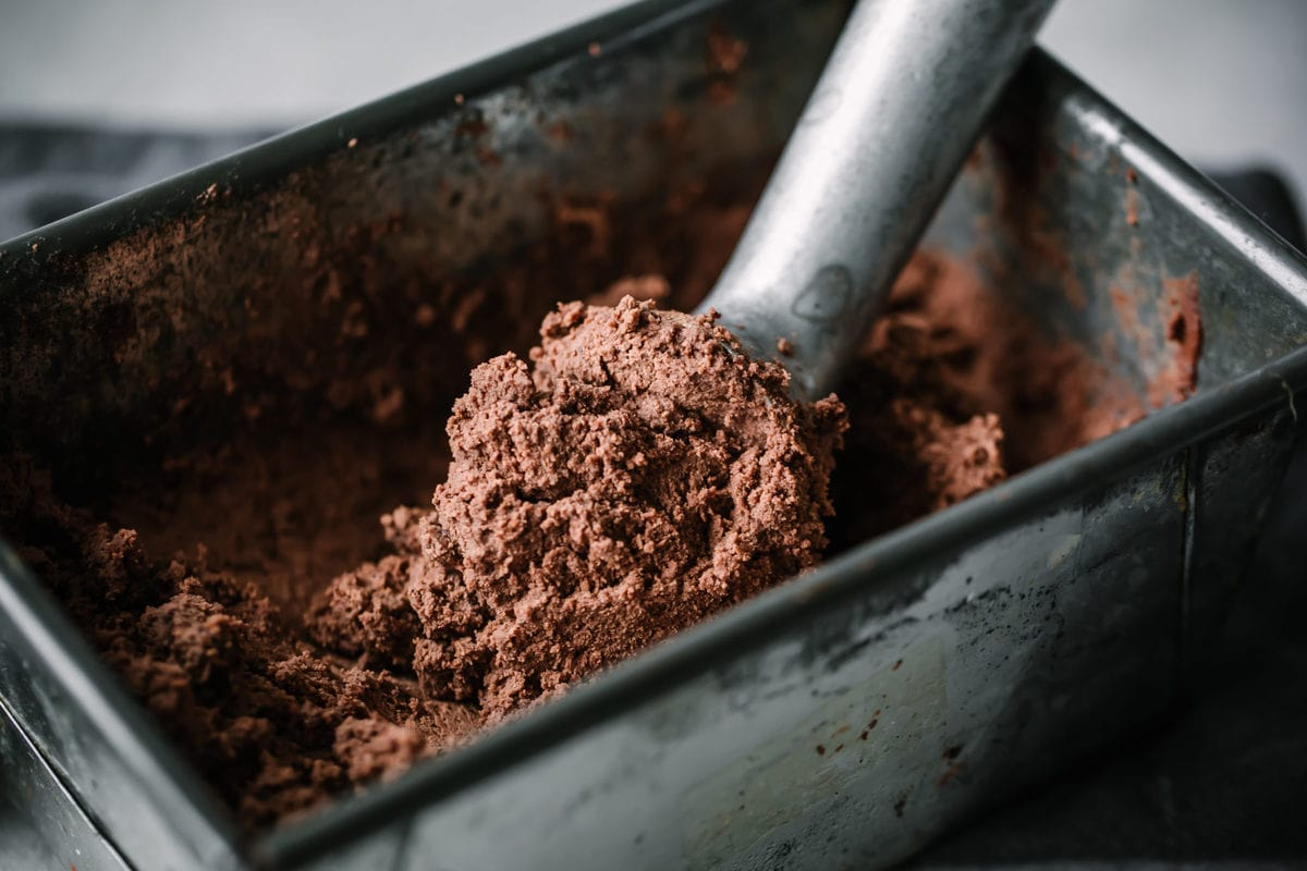 Rich and delicious, this Keto Brownie Ice Cream is the perfect summer treat. It's so good that you won't even know it is low carb and gluten free