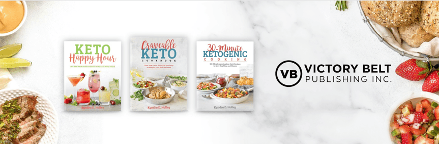 Keto Cookbooks by Kyndra D Holley