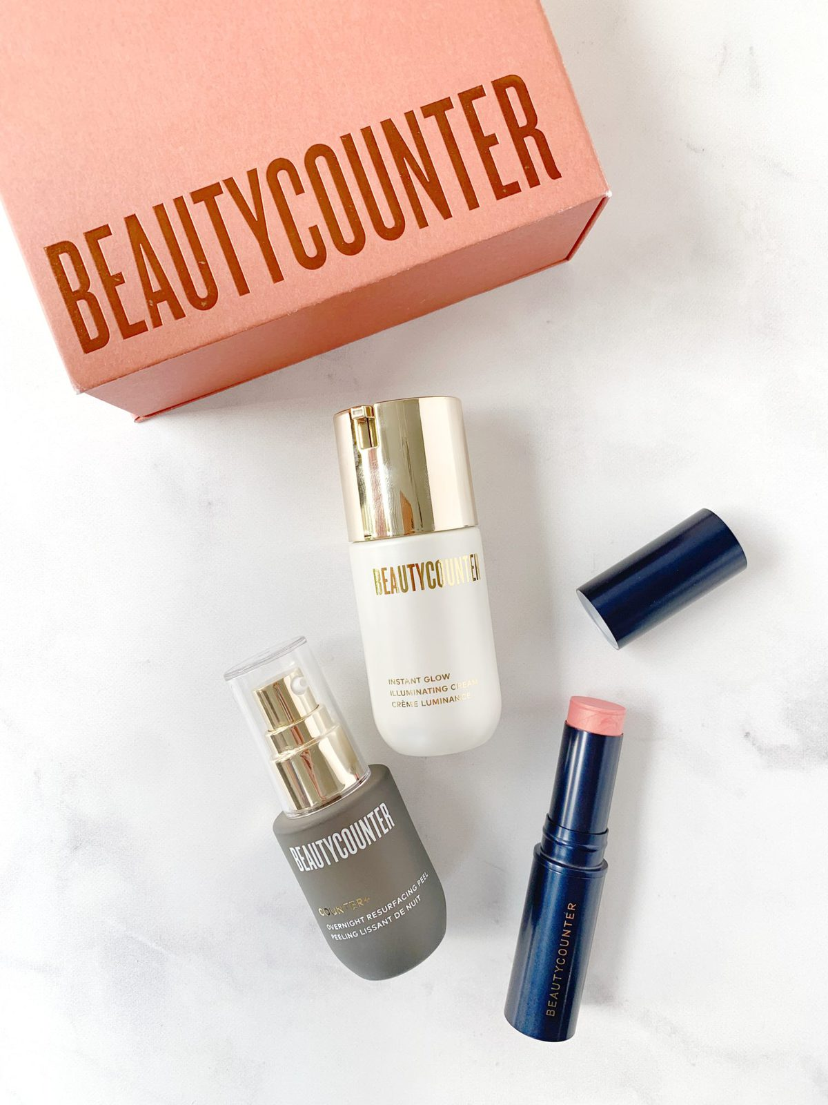 2019 Beautycounter Holiday Collection - Glow Getters Trio
