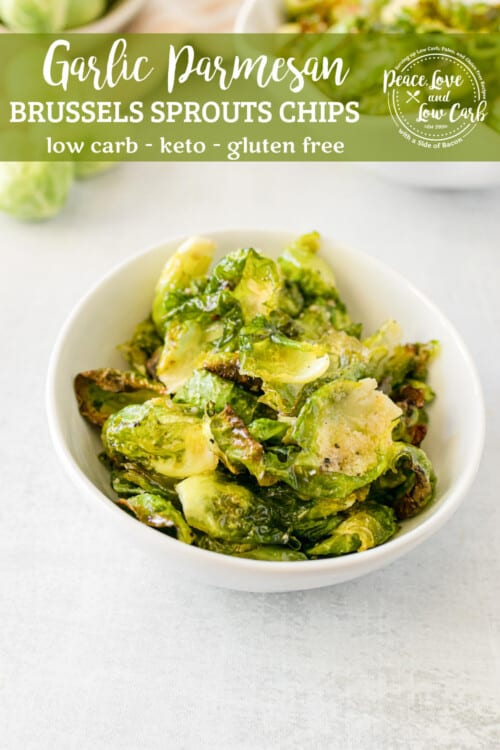 Easy Brussel Sprout Chips With Added Garlic And Parmesan